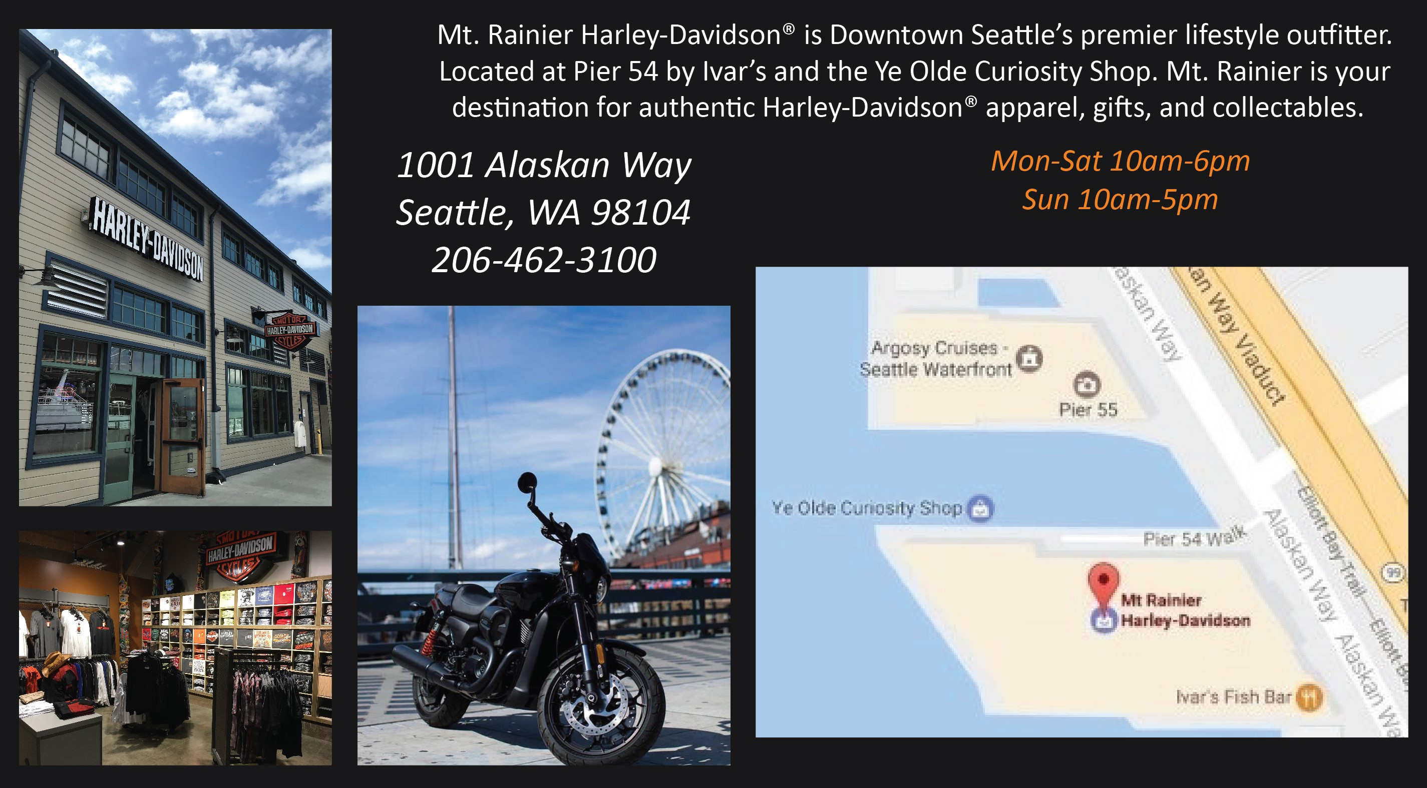 Harley Davidson Seattle >> Mt Rainier H D Eastside Harley Davidson Bellevue